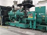上海发电机回收公司旧发电机组回收