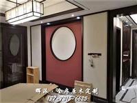 長沙櫻桃木實木家具中心、實木酒窖、櫥柜門定做服務很好