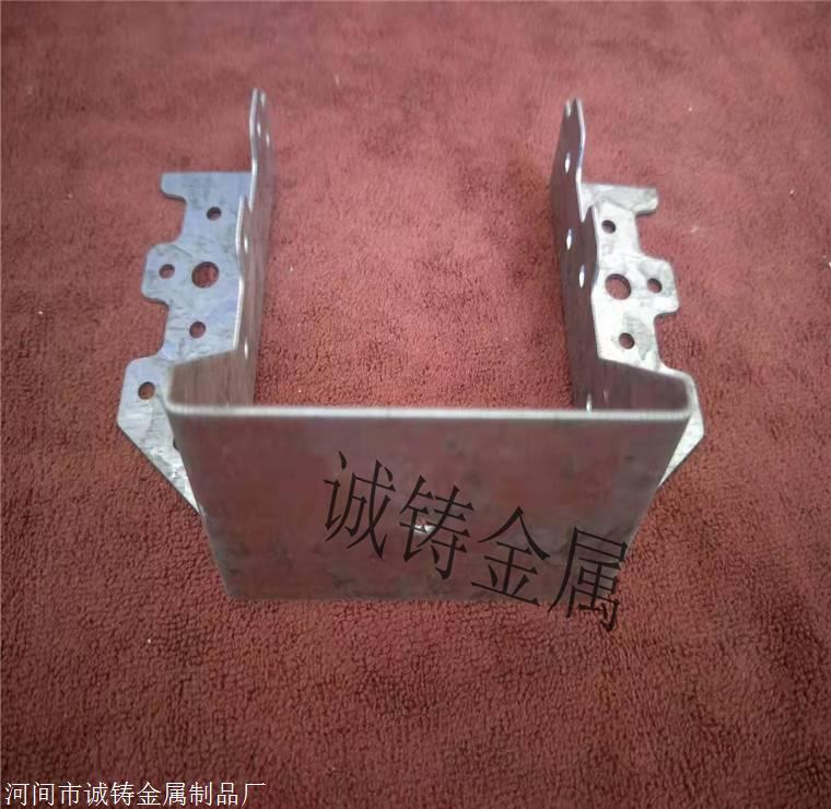 台州临海木屋连接件厂家-木结构金属齿板梁托连接件