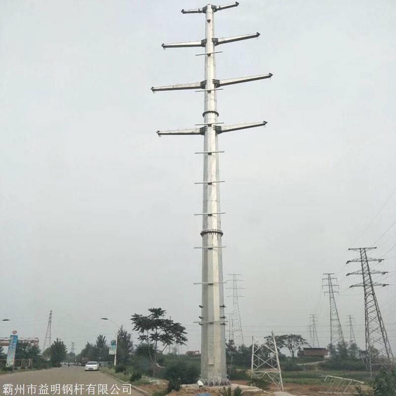 临沂电力钢杆生产厂家 10KV钢管杆基础预算