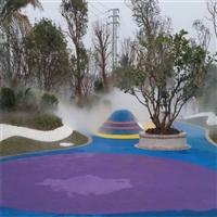 戶外水霧設備 公園霧化設備 溫泉造景設備