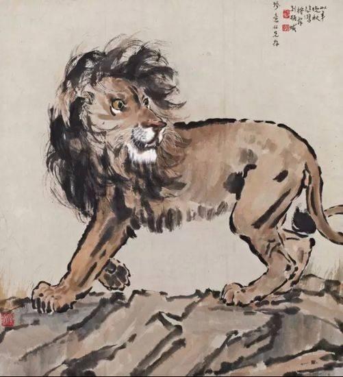 徐悲鸿画的狮子值多少钱