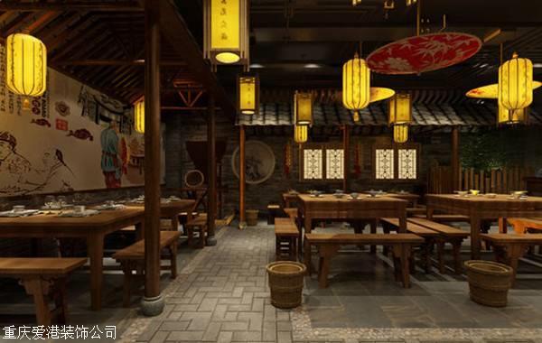 重庆火锅店装修,美好的心情从整火锅开始
