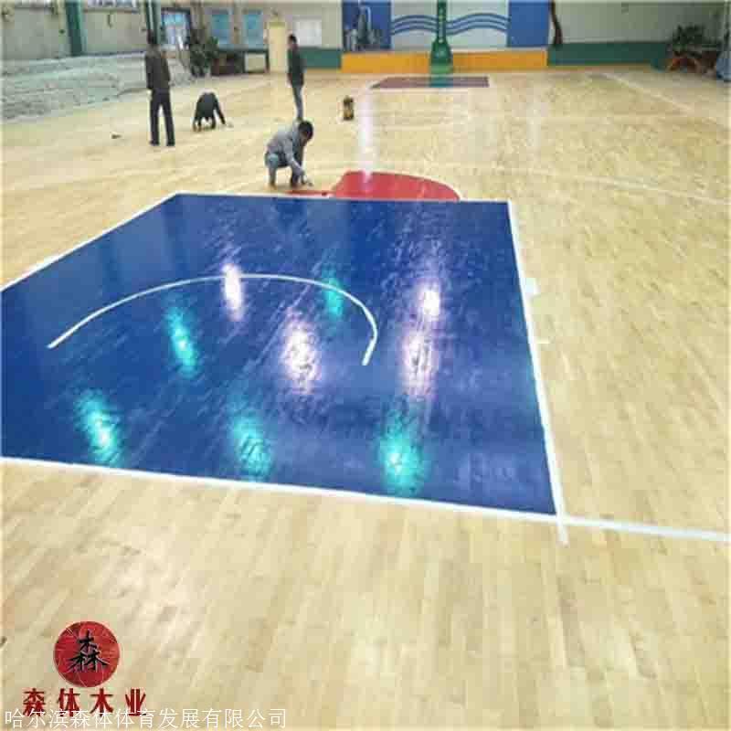 天津体育木地板厂家