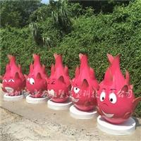 深圳玻璃钢火龙果雕塑厂家直销