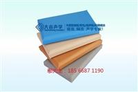 温州防火皮革软包高效吸声板