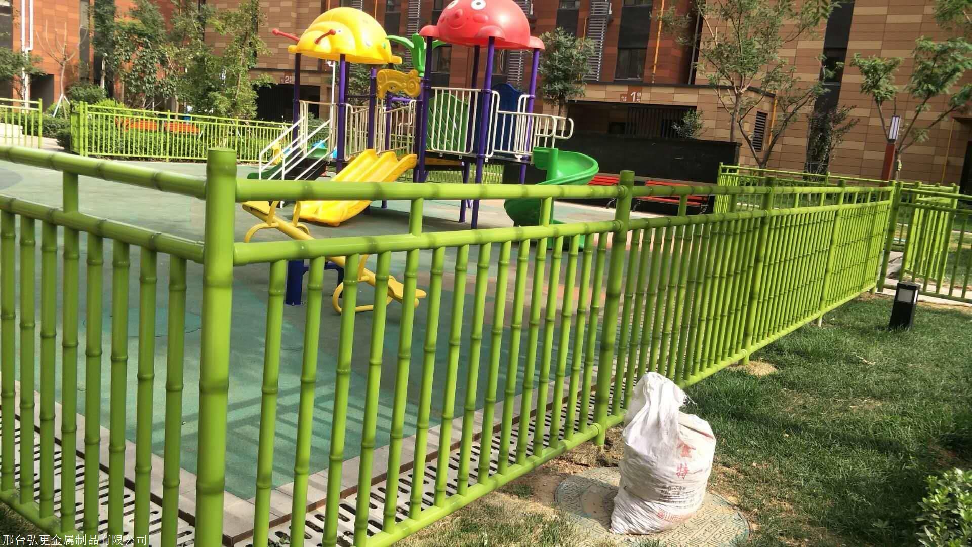 不锈钢竹节管幼儿园护栏