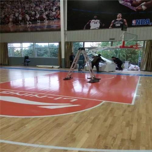 篮球场馆体育运动木地板 越来越重视对运动员的保护