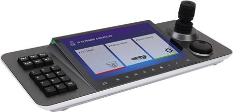 10寸触控键盘 派尼珂10寸光电触控屏网络高清多功能四维控制键盘