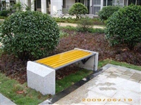 景觀椅子,觀景平臺座椅,塑木休閑椅廠家