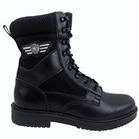 夏季网眼靴子透气执勤靴 保安工作靴 作战靴生产厂家