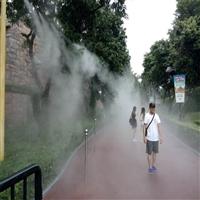 庭院冷霧降溫系統 門面細霧降溫設備 車間噴霧降溫設備