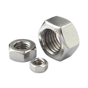 高压螺母,GB6175,M20, 不锈钢A2,50个/包