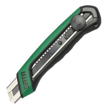 世达 SATA T系列25MM橡塑柄旋钮美工刀,93483