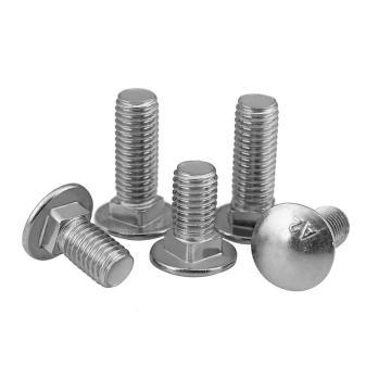GB12小头马车螺栓,M8-1.25*30,不锈钢304,强度A2-70,20个/包