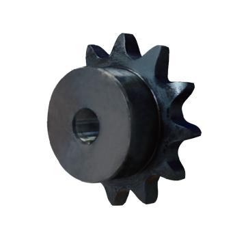 正盟  100B碳钢链轮  轴孔加工完成  DL100B17-N-45