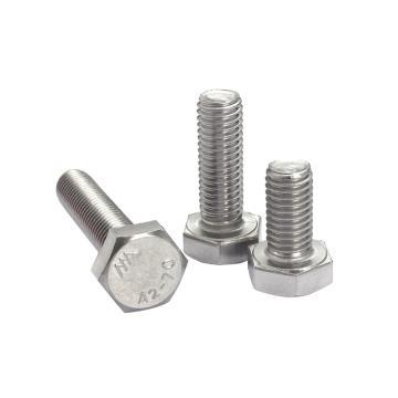 外六角螺栓,GB5783,M12*90,不锈钢A2/SUS304,25个/包