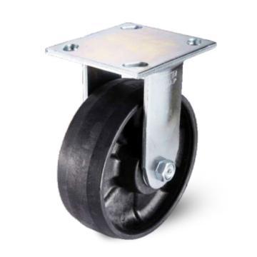 200耐高温底板型活动脚轮,轴承 滚柱