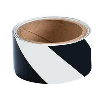 "B324 3"" X 5 YDS BLK/GLOW STRIPE TAPE"