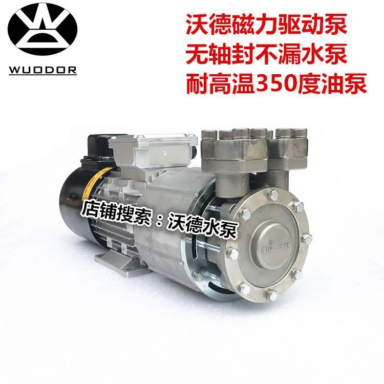 MDW-07泵沃德0.5KW磁力泵350度热油轮回泵