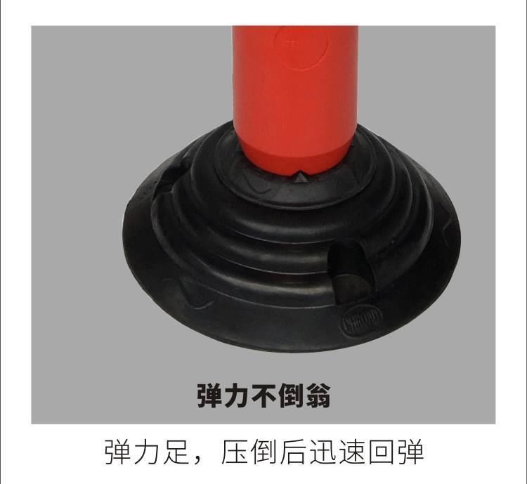 广东佛山厂家直销  粤盾交通橡胶弹力警示柱弹力柱反光柱防撞柱(图5)