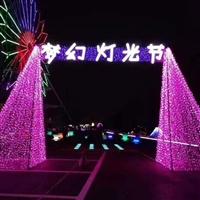 荣富文化专业 工厂生产灯光节 灯光节低价租售