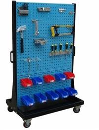 双面移动物料整理架零件盒整理架