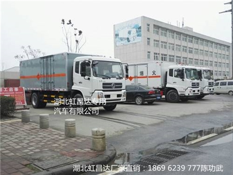 东风天锦防爆车 重庆万州桥梁高铁挖隧道专用