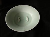 青白釉雙魚盤哪里鑒定檢測