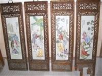 珠山八友瓷板畫的價格會居 高不下嗎