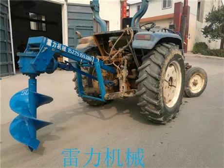 拖拉机钻坑机种植挖树坑机实力派