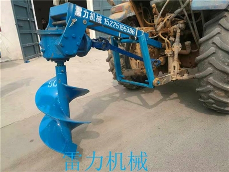 汽油植树钻土机种植打孔利器