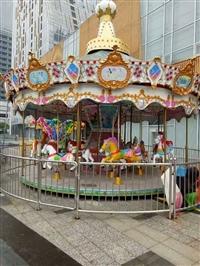 豪华转马价格,公园游乐场必备的儿童游乐设备,户外游乐设备厂