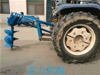 拖拉机植树钻四轮车带式打坑钻快
