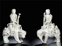 漢斯德拍賣有限公司 春拍征集明德化窯觀音立像