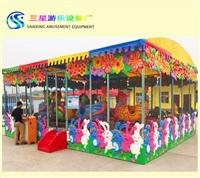 喷球车游乐设备价格 室内外摆放儿童公园游乐设施