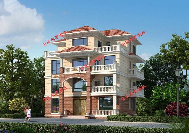 最新款三层半别墅图片 新款三层别墅图片大全