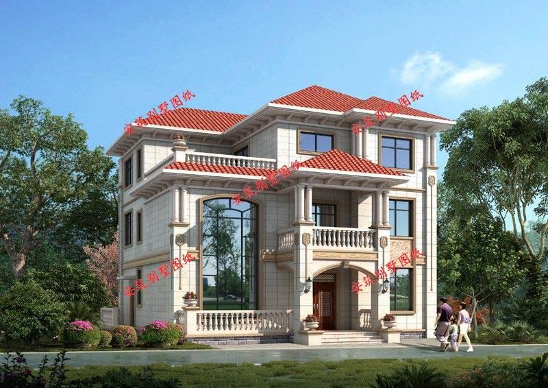 中式四合院农村房屋设计图大全,造价仅四十万元