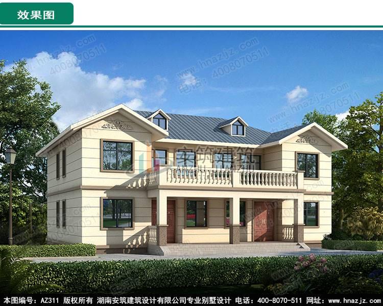 首页 湖南安筑建筑设计有限公司 新闻资讯 农村自建房7室1厅带活动室
