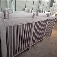 防护栏木纹铝窗花 仿古铝花格定制