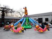 自控飞机,旋转蜜蜂,公园大型游乐设备