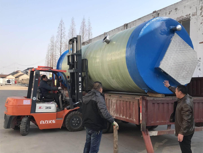 地埋式箱泵一体化  一体化污水提升泵站