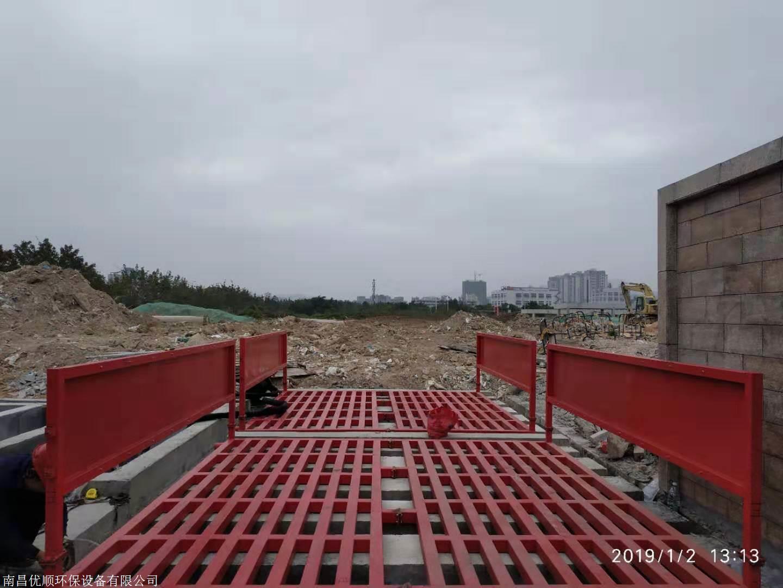 广东省清远市工地洗轮机两年售后,工地大门洗车