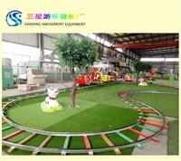 新款轨道儿童游乐设备 欢乐跑马 景区好玩游乐项目厂家