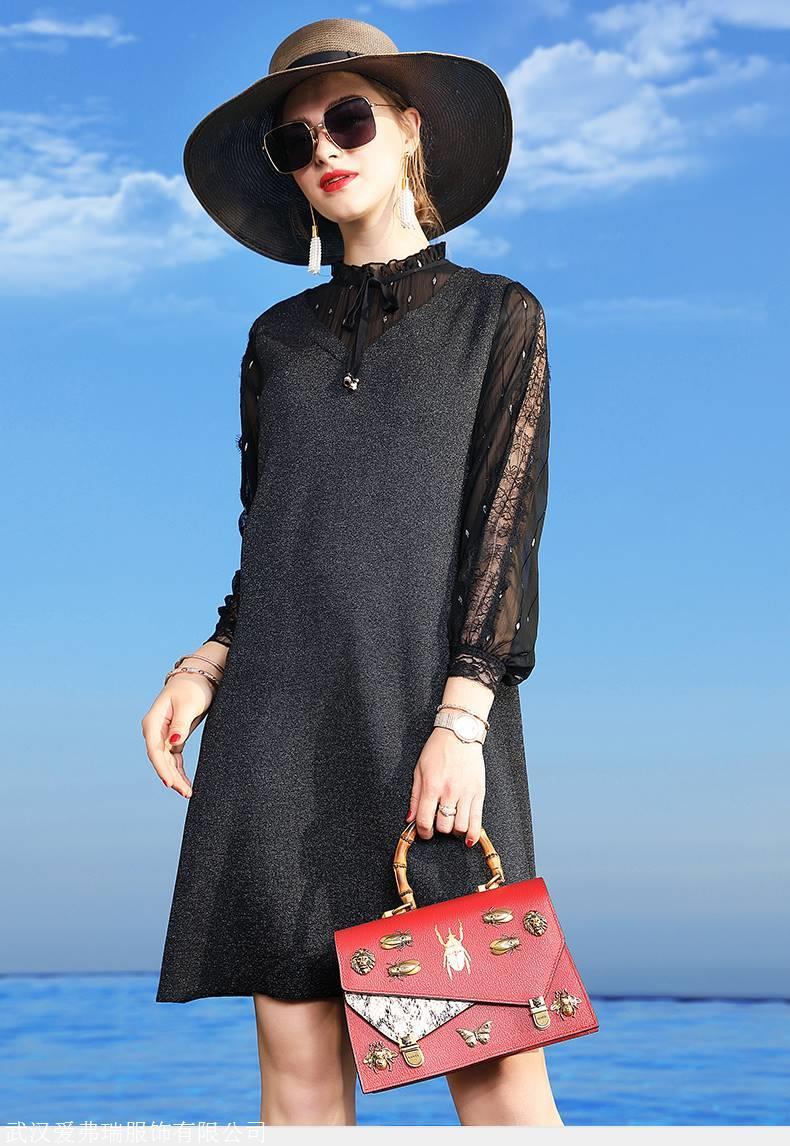 服装行业要怎么拿货VESA韩版时尚百褶裙
