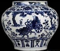 元代青花瓷器交易