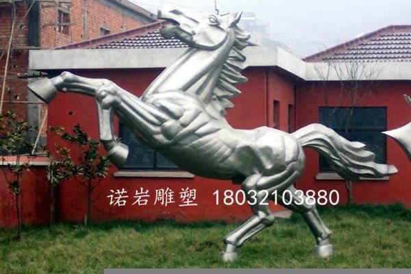 不锈钢马雕塑动物雕塑