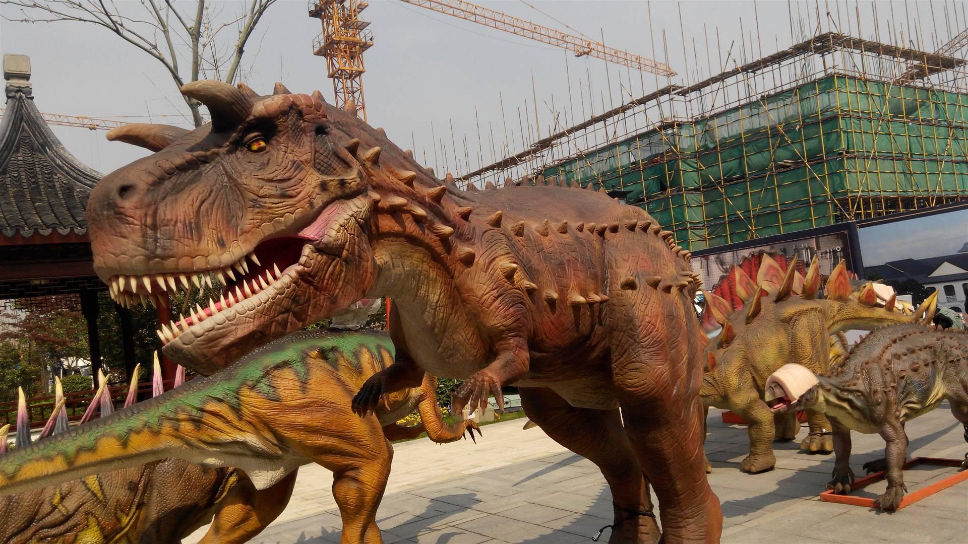 大型质感好恐龙出租
