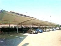 建筑膜結構停車棚價格