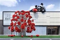 廣西不銹鋼雕塑 專業雕塑團隊 創意廣西不銹鋼雕塑